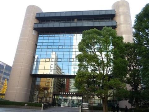 展示会場の東京都立産業貿易センター浜松町館